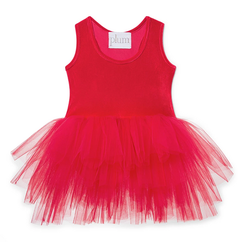 B.A.E Tutu Dress / Rosie Red
