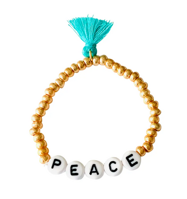 Peace Stretch Bracelet