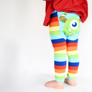 Rainbow Monster Leggings