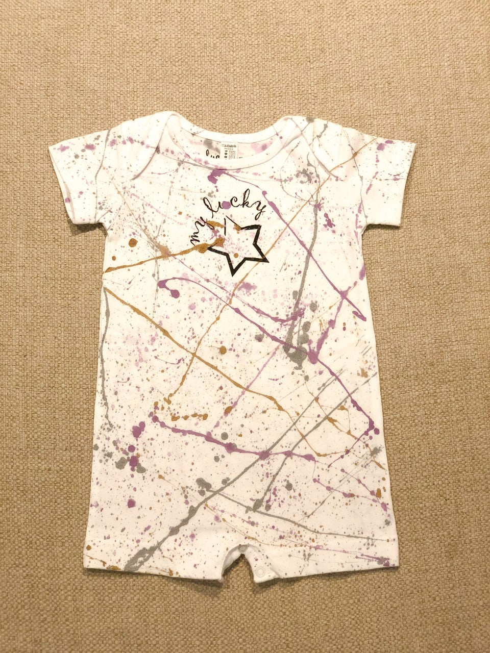 My Lucky Star Romper / Galaxy Purple