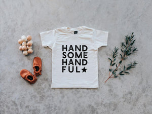 Handsome Handful Organic Baby & Toddler Tee