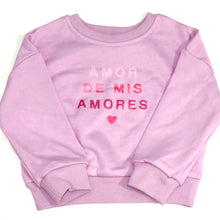 Load image into Gallery viewer, Amor de mis Amores Sweater / Lilac