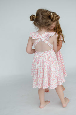 Rosita Dress in Ditsy Floral