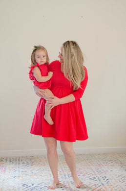 The Mama Mini in Scarlet