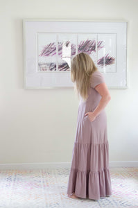 The Mama Maxi in Mauve
