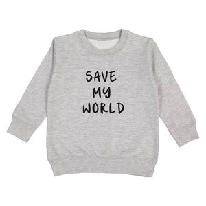 Save My World Pullover
