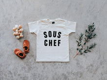 Load image into Gallery viewer, Sous Chef Organic Tee