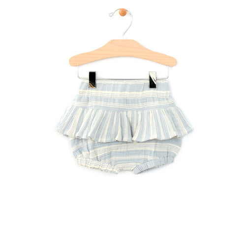Skirted Bloomer / Blue Stripe