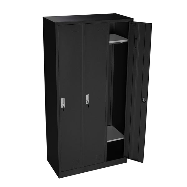 Lockers Black 3-3