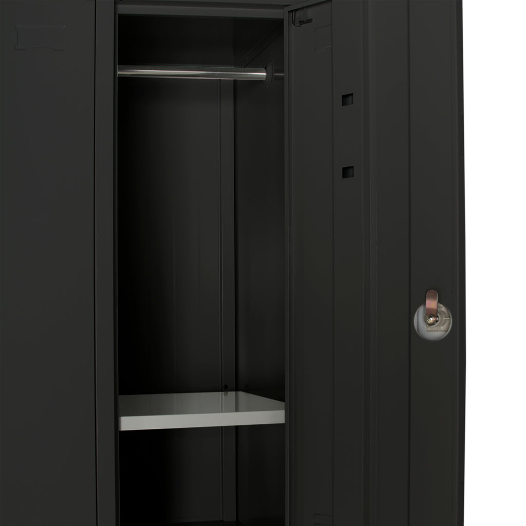 Lockers Black 3-6