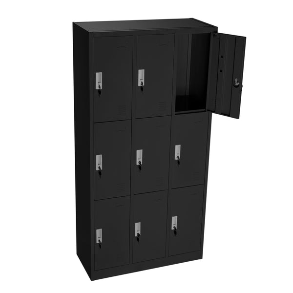 Lockers Black 3-9