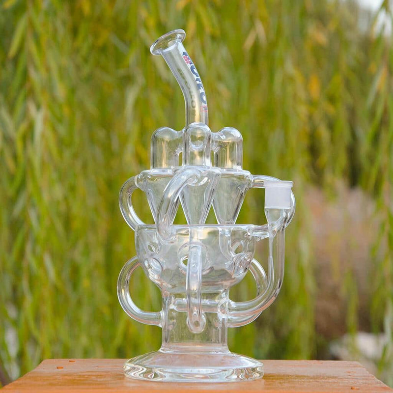 TRIRECYCLER | DAB RIG | BOROTECH Harrydabs BoroTech