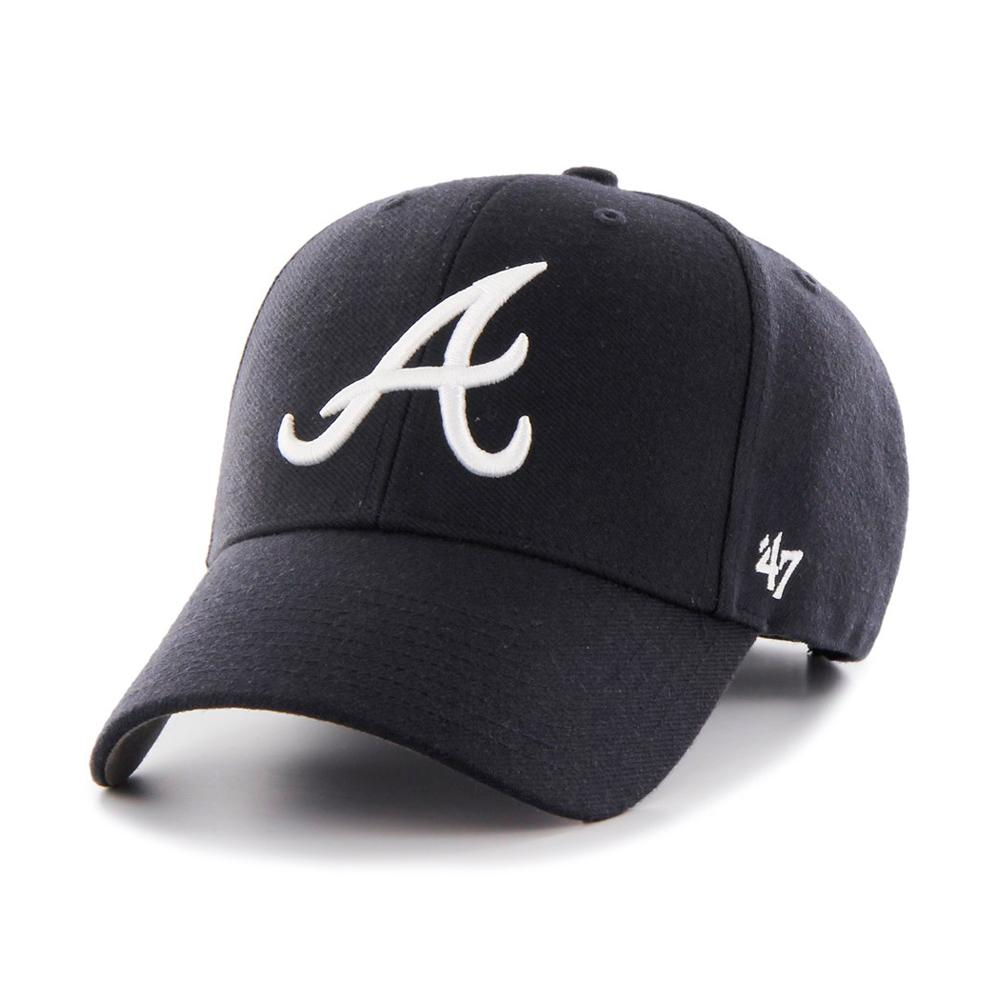 47 Brand - Atlanta Braves MVP - Adjustable - Navy