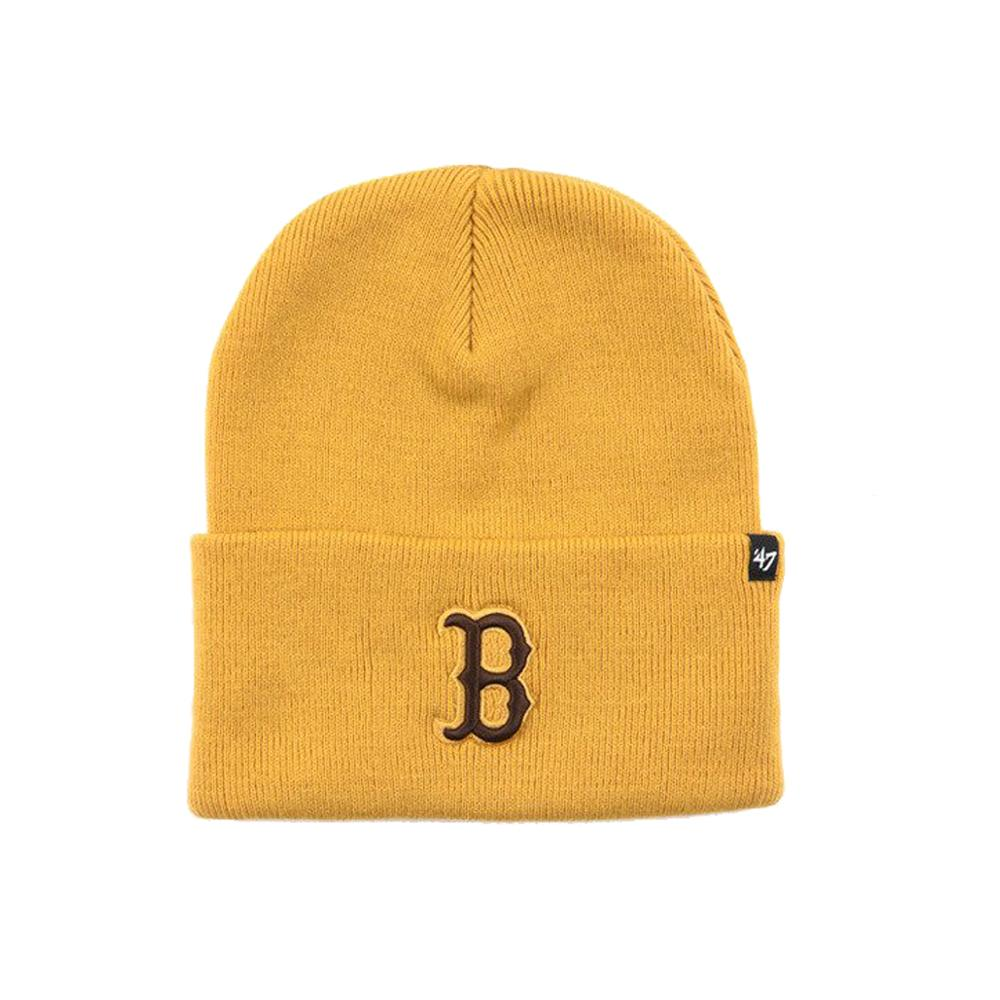 47 Brand - Boston Red Sox Haymaker - Beanie - Yellow/Brown