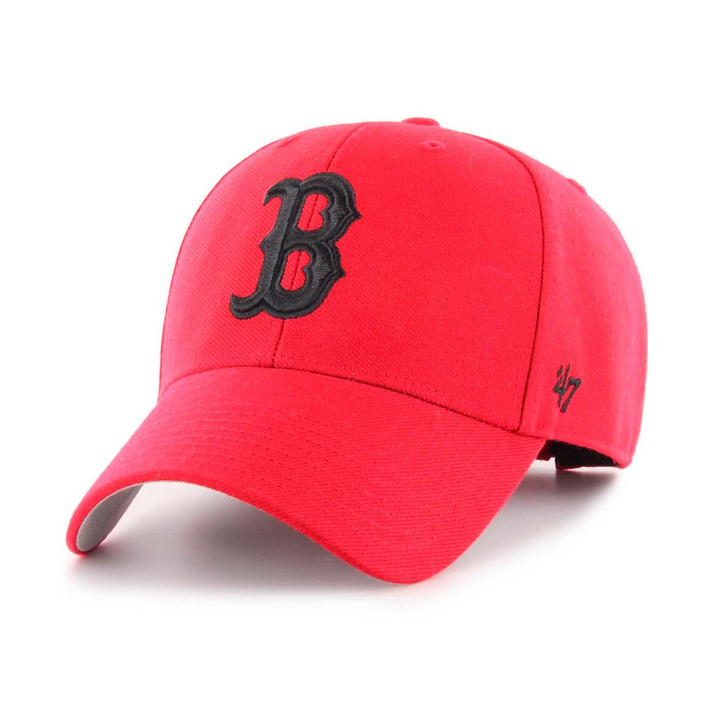 47 Brand - Boston Red Sox MVP - Adjustable - Red/Black