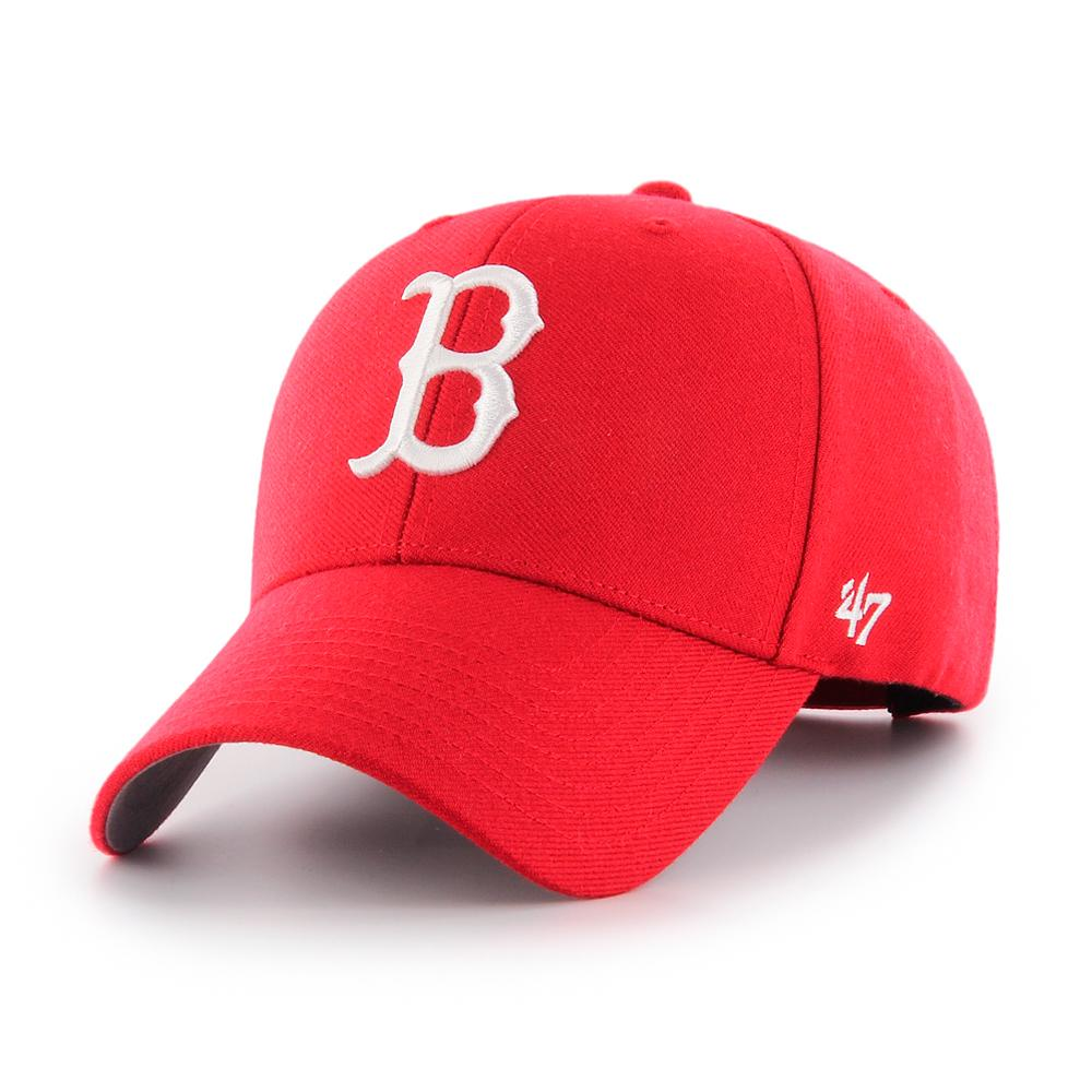 47 Brand - Boston Red Sox MVP - Adjustable - Red/White