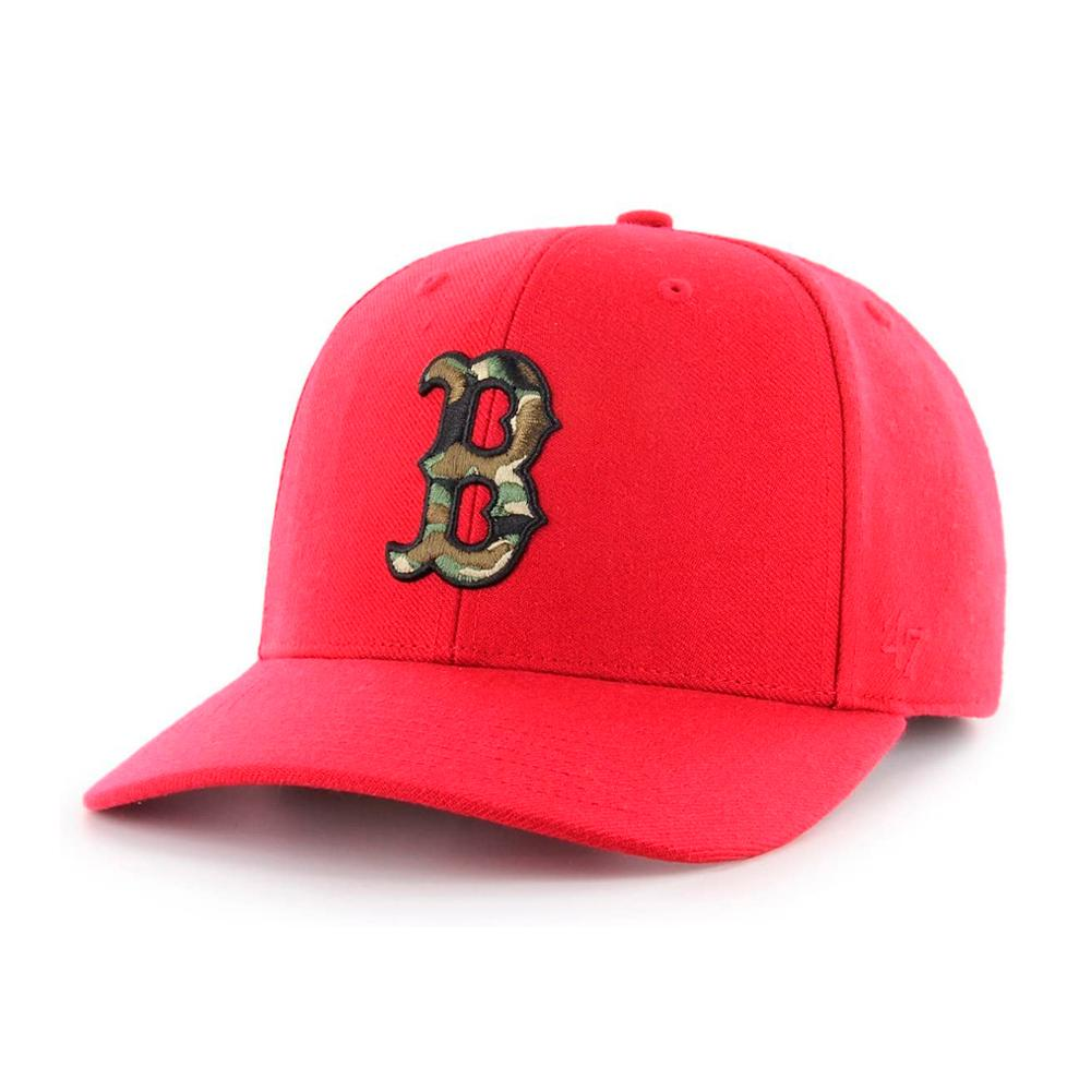 47 Brand - Boston Red Sox MVP DT Camfill - Adjustable - Red/Camo