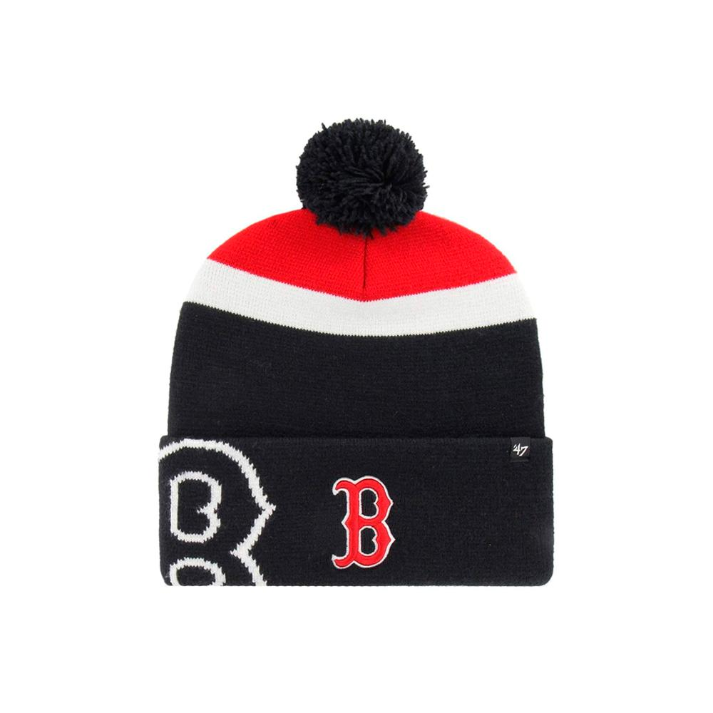 47 Brand - Boston Red Sox Mokema - Beanie - Navy/Red/White