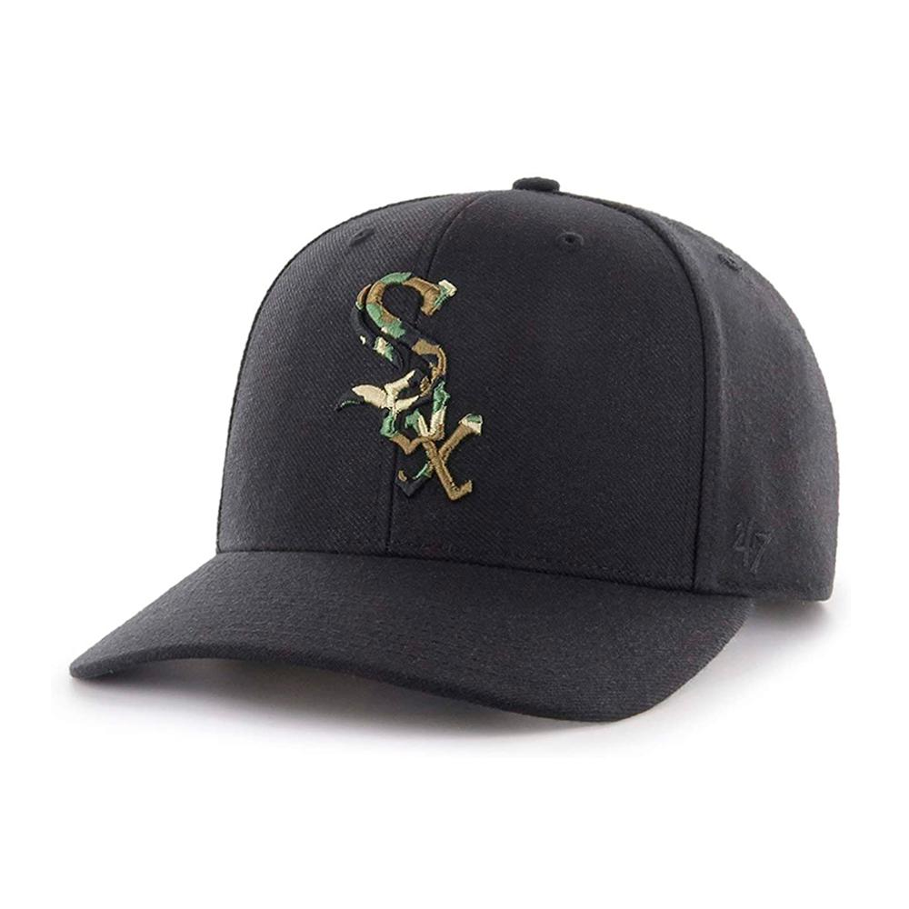 47 Brand - Chicago White Sox MVP DT Camfill - Adjustable - Black/Camo