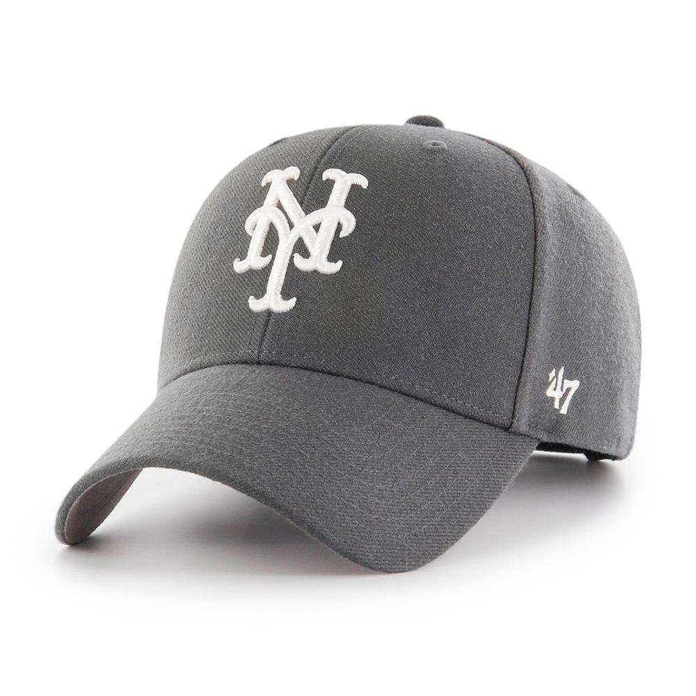 47 Brand - NY Mets MVP - Adjustable - Charcoal/White