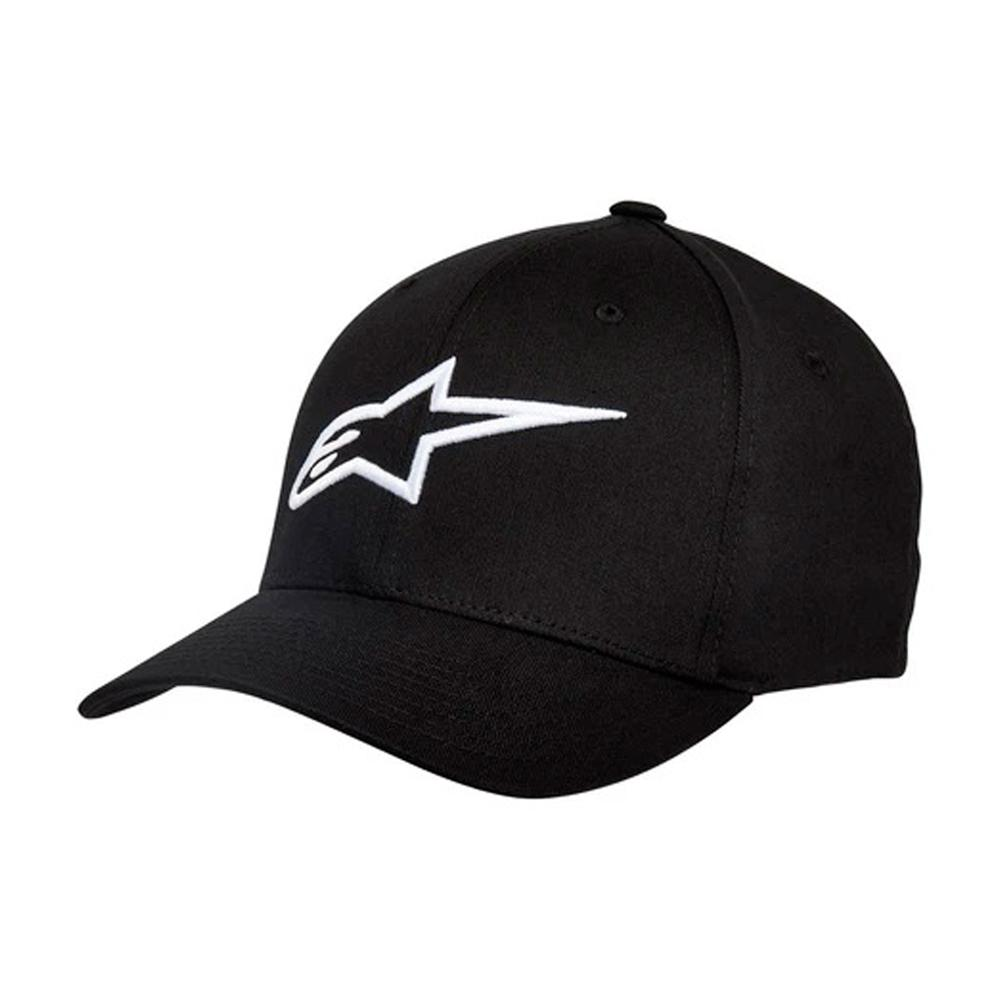 Alpinestars - Ageless Curved Hat - Flexfit - Black/White