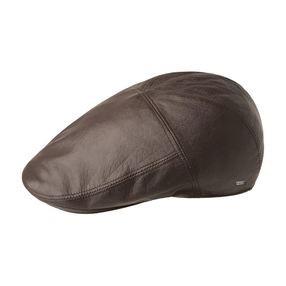 Bailey - Langham - Sixpence/Flat Cap - Dark Brown