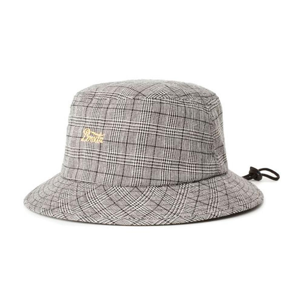 Brixton - Stith -  Bucket Hat - Black/White