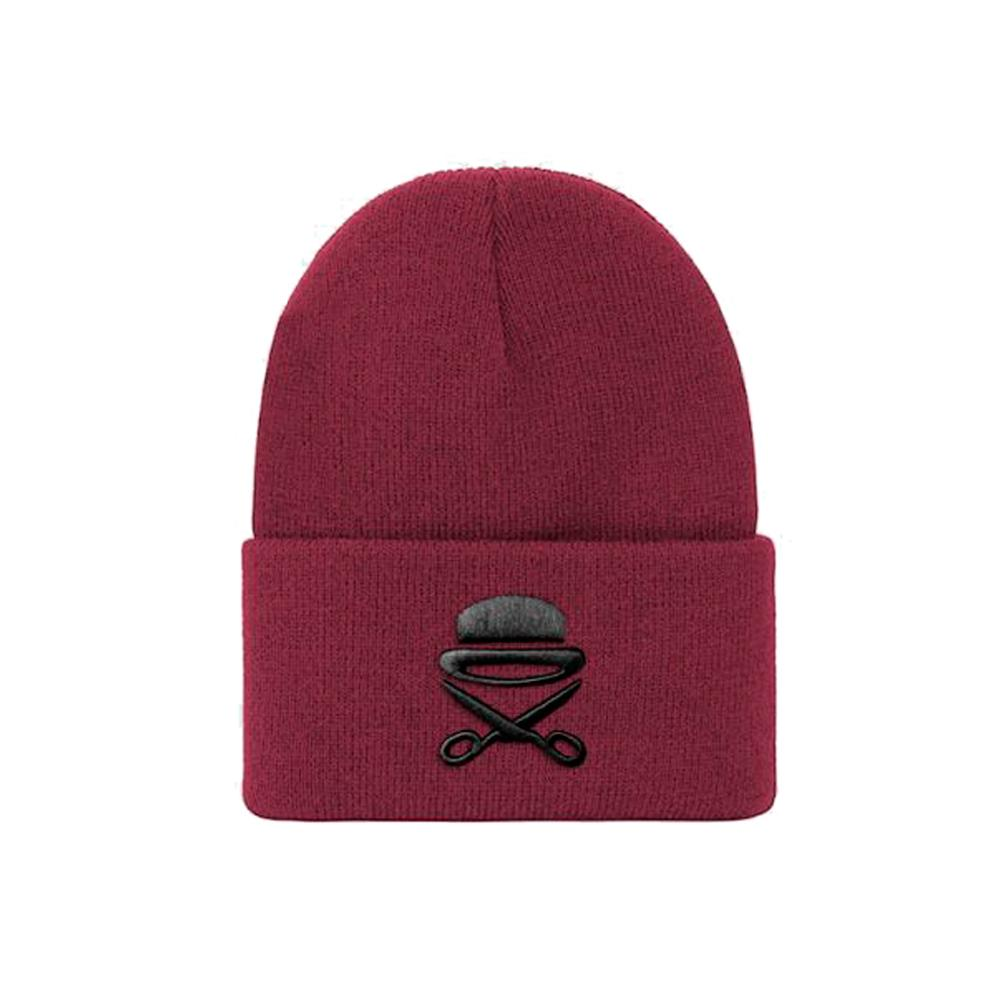 Cayler & Sons - Old School - Beanie - Maroon/Black