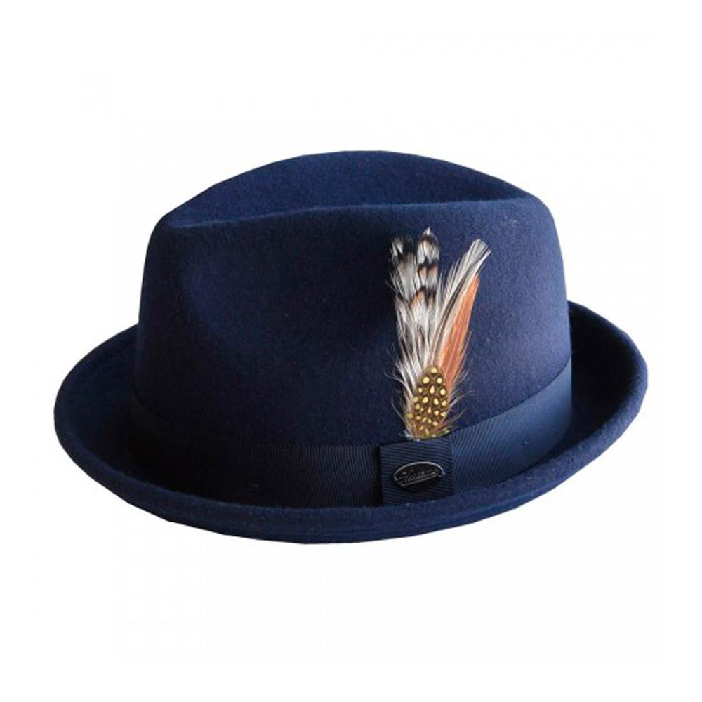 City Sport - Alfredo - Fedora Hat - Navy