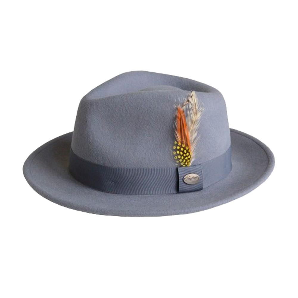 City Sport - Martino - Fedora Hat - Grey