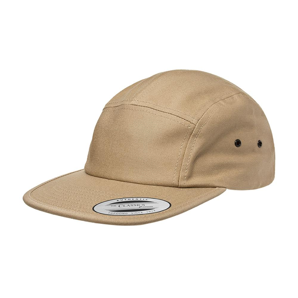 Yupoong - 5 Panel - Adjustable - Khaki