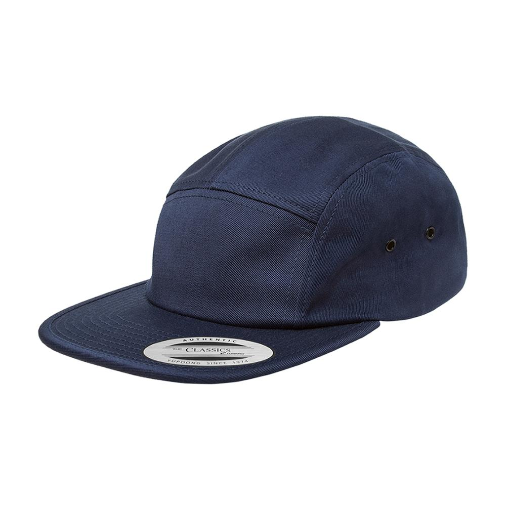 Yupoong - 5 Panel - Adjustable - Navy