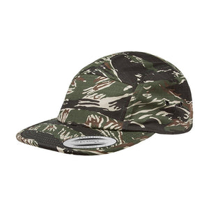 Yupoong - 5 Panel - Adjustable - Tiger Camo
