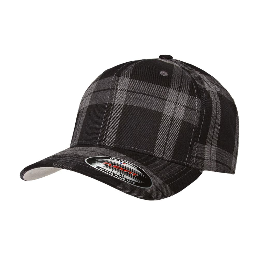 Flexfit - Baseball Check - Flexfit - Grey