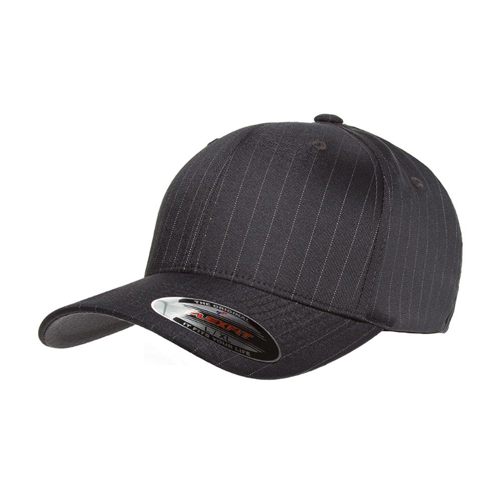Flexfit - Baseball Pinstripe - Flexfit - Dark Grey