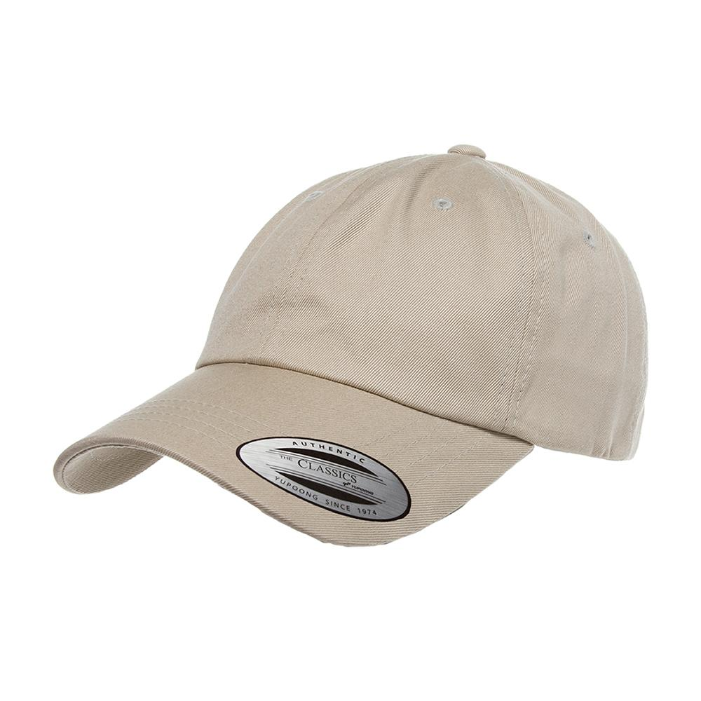 Yupoong - Dad Cap - Adjustable - Khaki