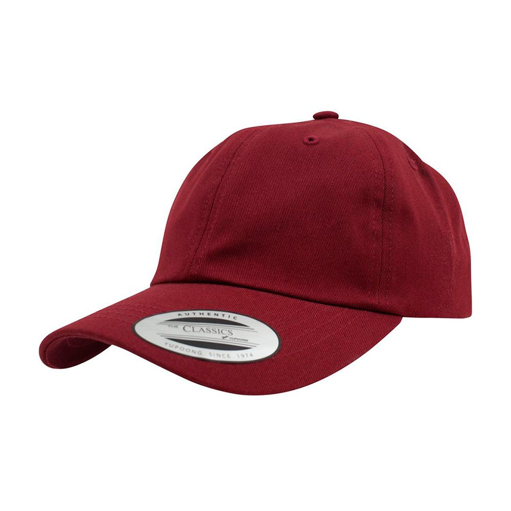 Yupoong - Dad Cap - Adjustable - Maroon