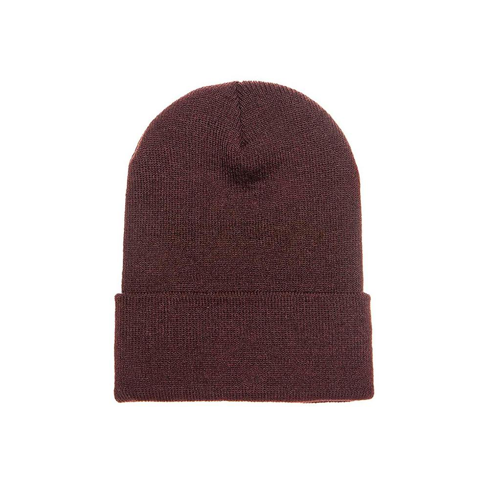 Yupoong - Fold Up Beanie - Brown