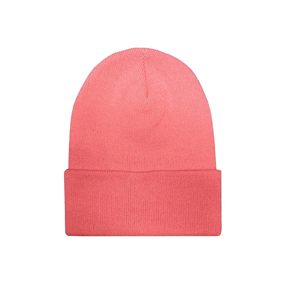 Yupoong - Fold Up Beanie - Coral