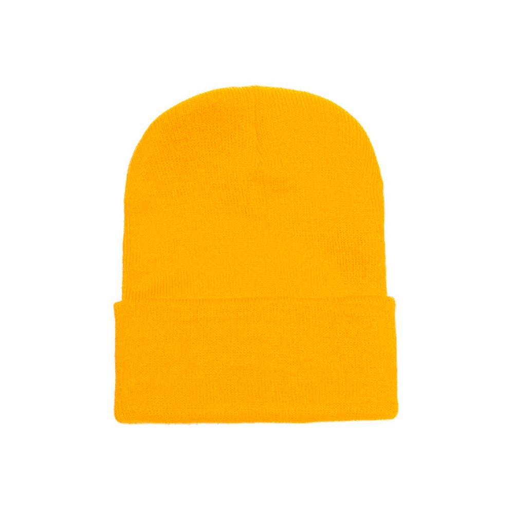Yupoong - Fold Up Beanie - Gold
