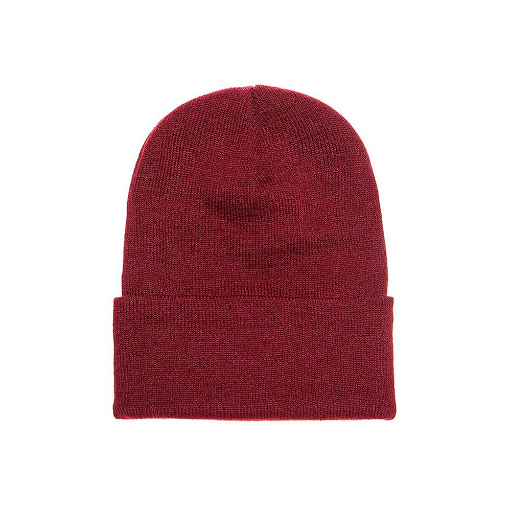 Yupoong - Fold Up Beanie - Maroon