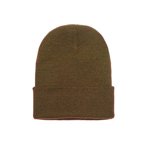 Yupoong - Fold Up Beanie - Olive