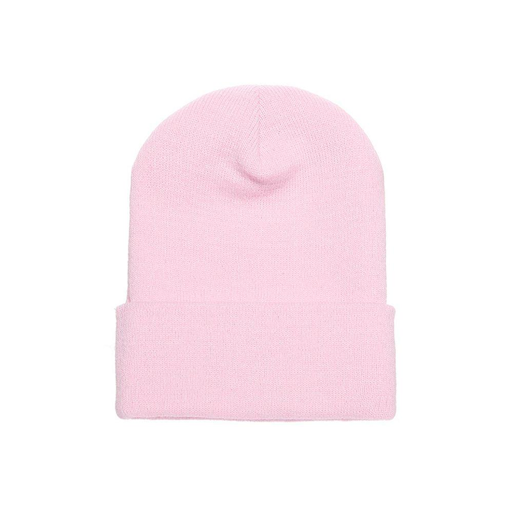 Yupoong - Fold Up Beanie - Pink