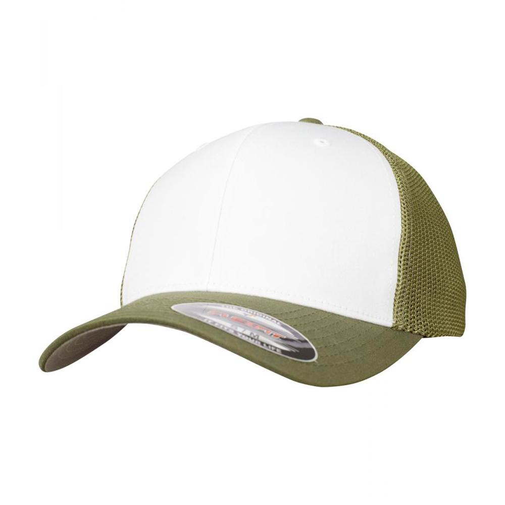 Flexfit - Mesh Colored Front - Flexfit - Buck/White