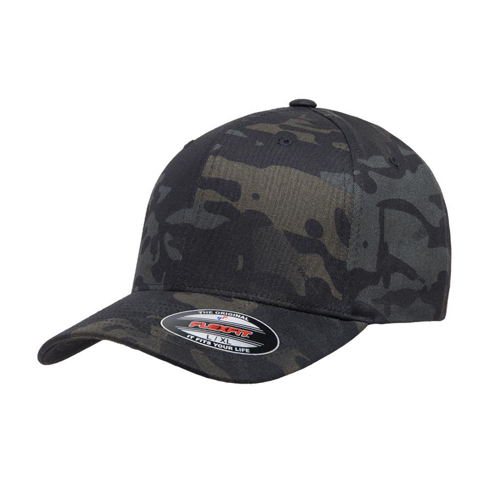 Flexfit - Multicam Baseball - Flexfit - Black Camo