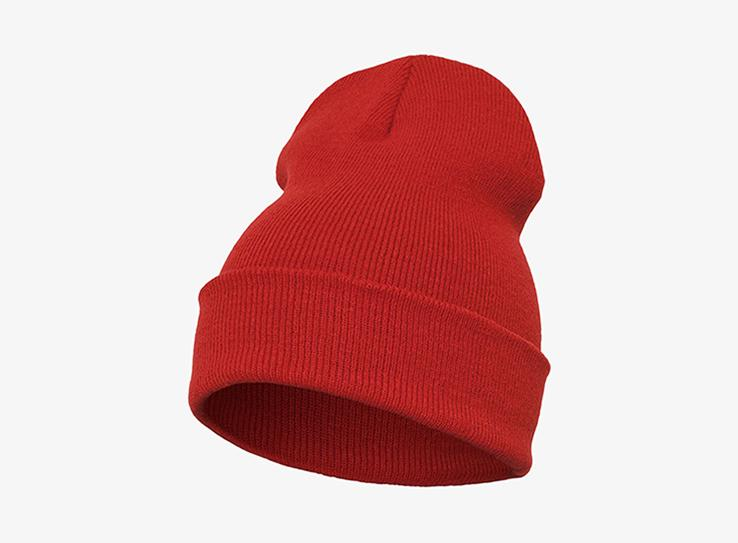 Yupoong - Fold Up Beanie - Red