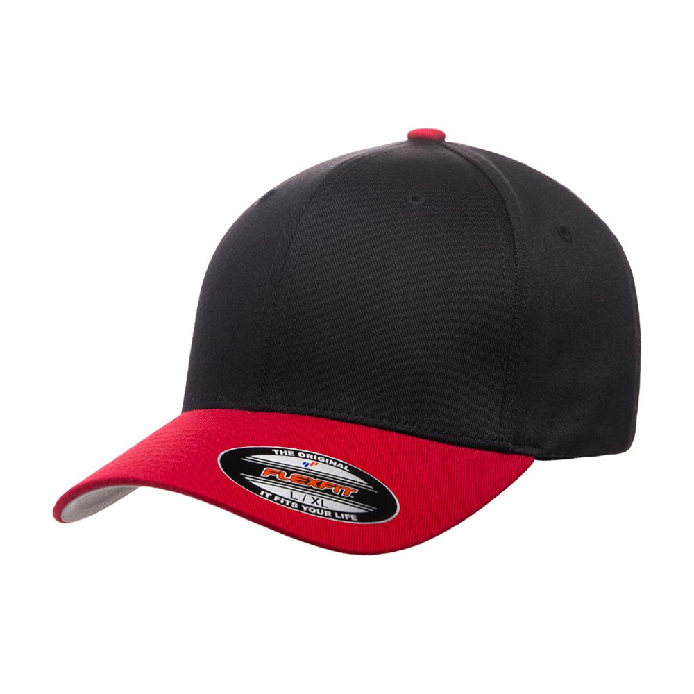 Flexfit - Baseball Original - Flexfit - Black Red