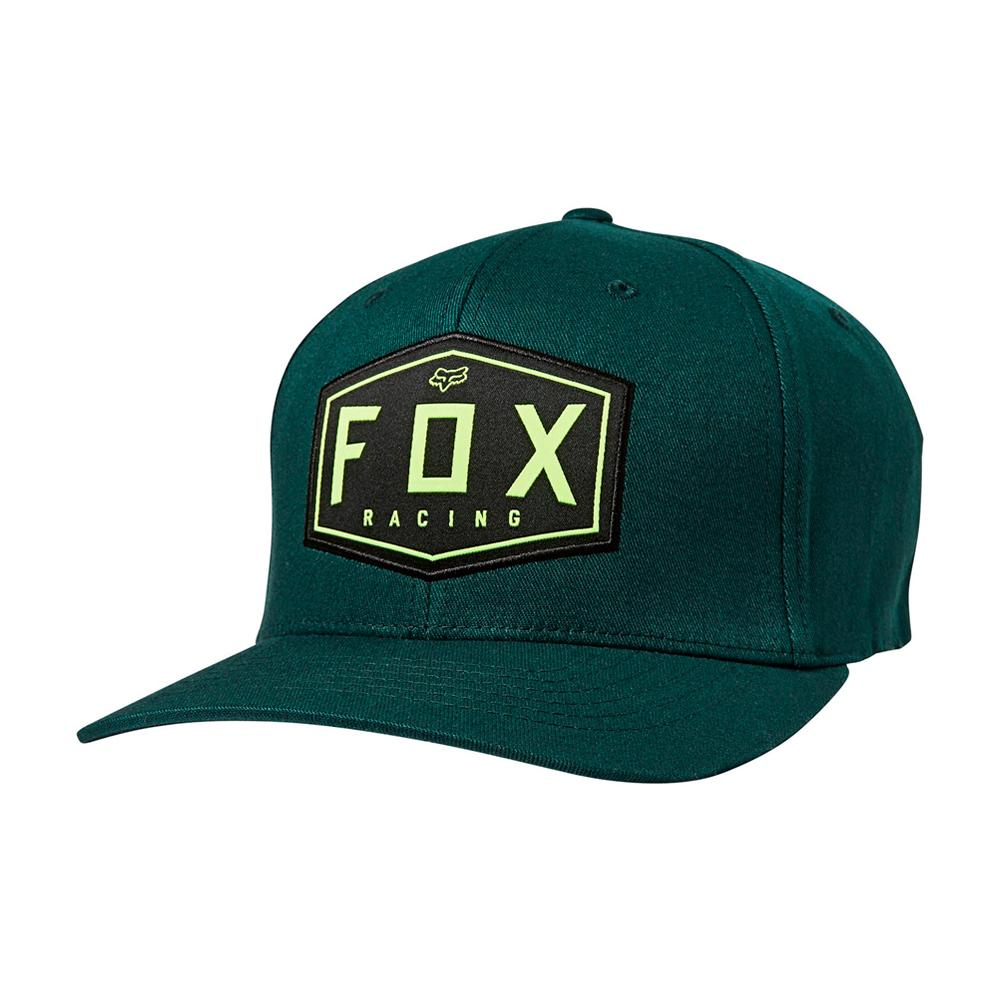 Fox - Crest - Flexfit - Emerald Green