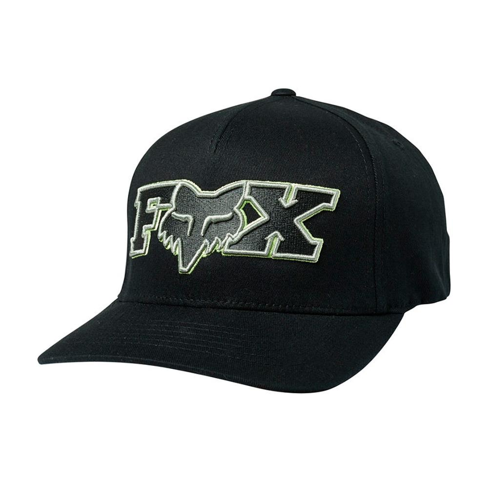 Fox - Ellipsoid - Flexfit - Black/Green