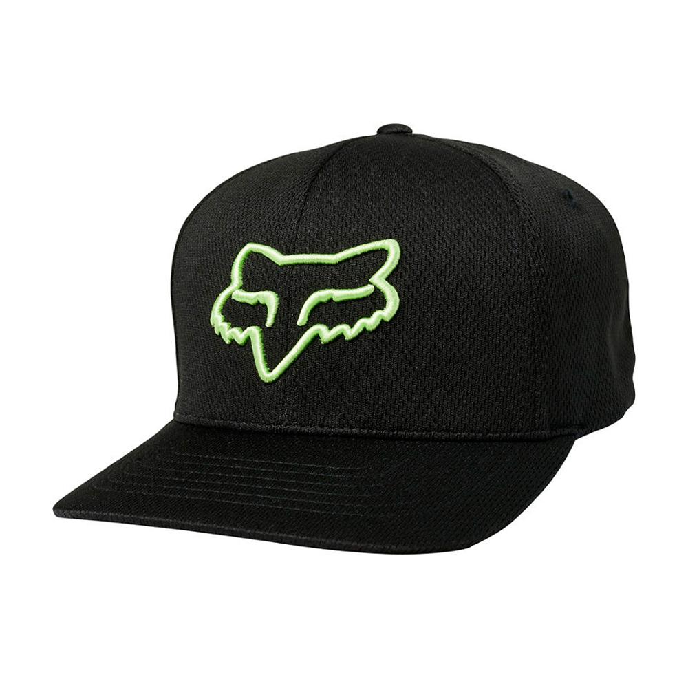 Fox - Lithotype -  Flexfit - Black/Green